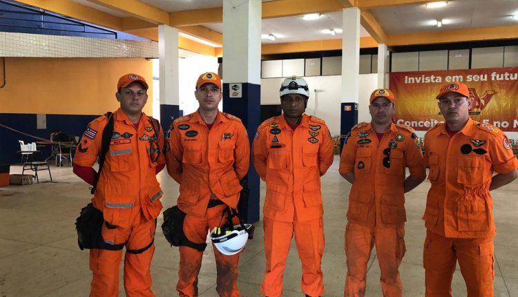 Governo do Estado envia bombeiros para ajudar nas buscas por vítimas em Brumadinho