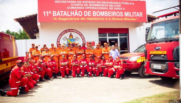 Bombeiros são acionados para auxiliar um parto de emergência