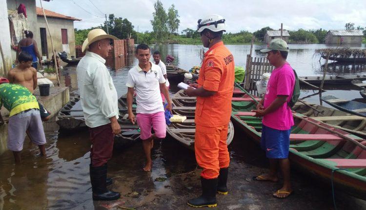Equipes de Pronta intervenção são empregadas nos municípios afetados pelas chuvas