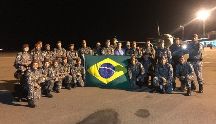 Bombeiros do Maranhão reforçam missão de ajuda Humanitária em Moçambique