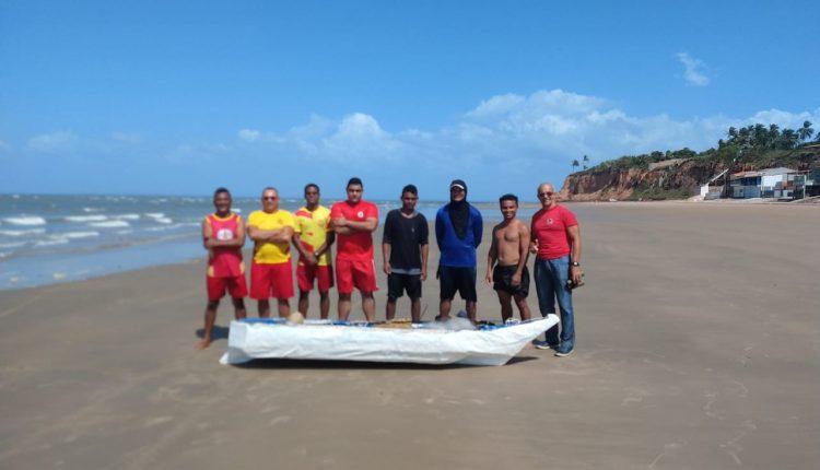 Guarnição do 10° BBM resgata vítimas ilhadas na Praia de Panaquatira