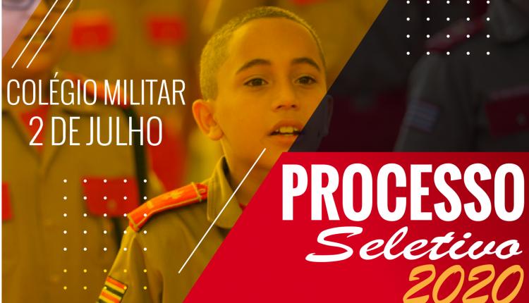 Edital do Processo Seletivo para o Colégio Militar de Barra do Corda para o ano de 2020