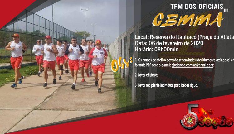 TFM DOS OFICIAIS DO CBMMA