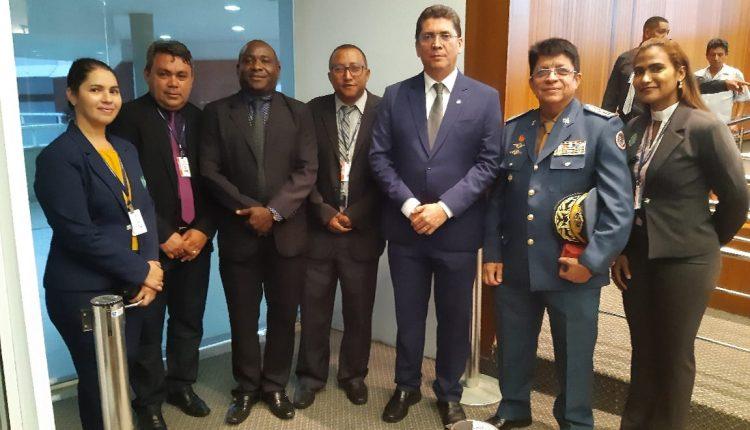 Comante Geral do CBMMA prestigia desfile militar e participa de solenidade de abertura dos trabalhos Legislativos de 2020
