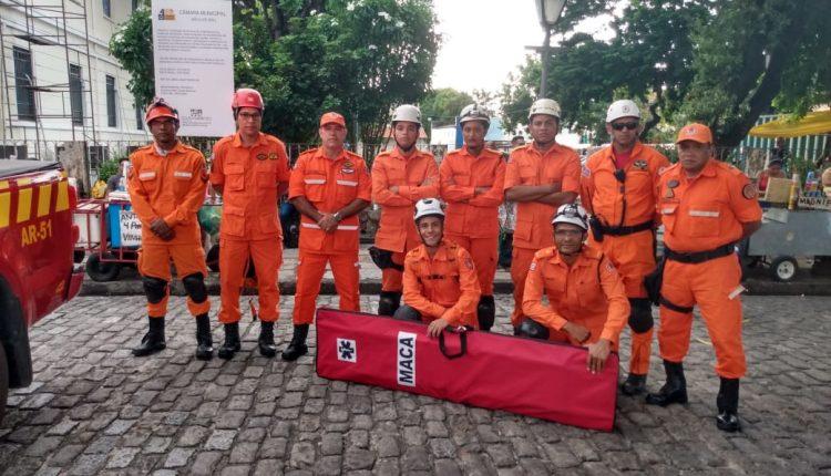 O Corpo de Bombeiros Militar do Maranhão (CBMMA) prossegue com o esquema de segurança, em prática desde o pré-carnaval.