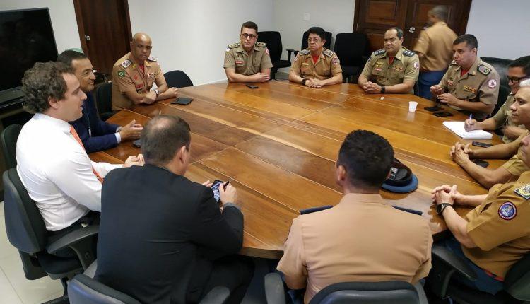 Comandantes Gerais de Corpos de Bombeiros Militares se reúnemem Brasília
