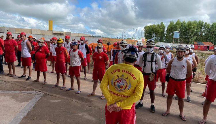 Volume do Rio Mearim sobe e Bombeiros integram força tarefa de auxílio aos desabrigados