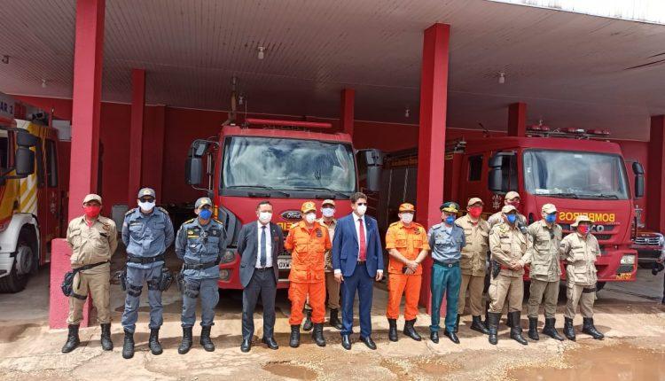 Cúpula da Segurança Pública visita região Tocantina