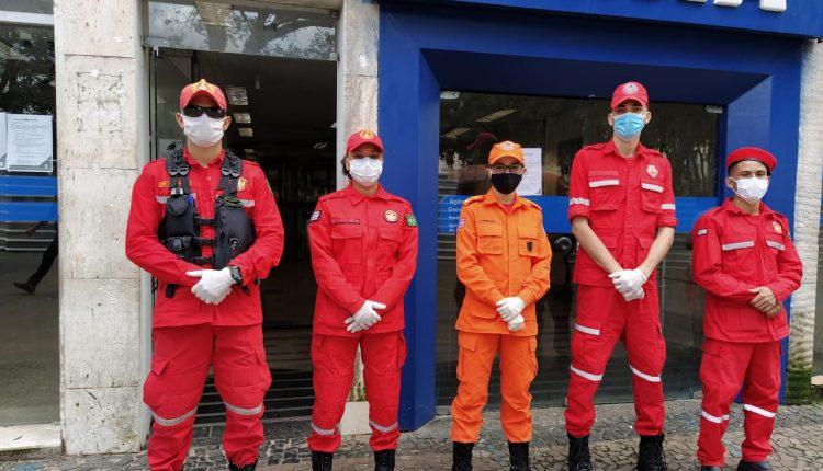 """Bombeiros promovem Operação """"Distância Segura"""""""