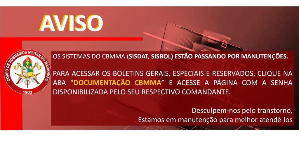 037/2020 MANUTENÇÃO NOS SISTEMAS DO CBMMA