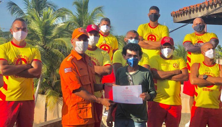 Bombeiros participam de palestra sobre balneabilidade nas praias da capital