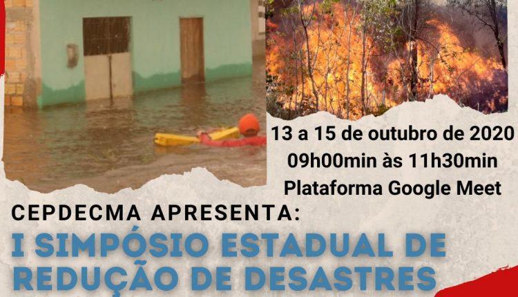 I SIMPÓSIO ESTADUAL DE REDUÇÃO DE DESASTRES DO MARANHÃO